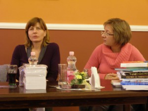 Bolemant Éva és Haraszti Mária az IrodalmiKorzó vendégeiként idei köteteikről beszéltek
