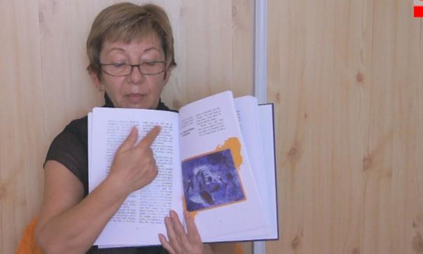Zalaba Zsuzsa könyvéről a Televízióban